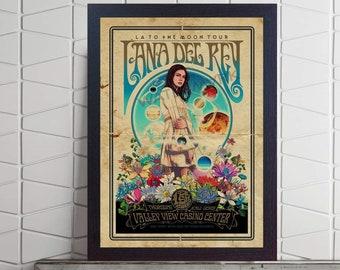 Lana Del Rey Poster Etsy