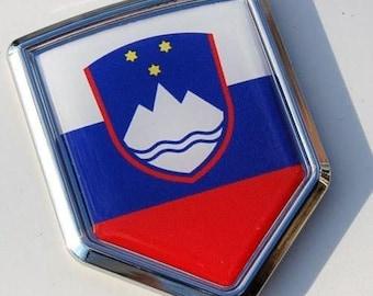keychain key chain ring flag national souvenir shield slovenia ljubljana