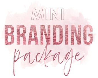 Mini Branding Package, Custom Logo Design, Mini Branding Pack, UNIQUE Logo only for you, Custom Branding, Logo Design, Custom Concept Logo