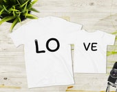 Family Matching Outfit Shirt PartnerLook LOVE - Love Gift Idea