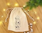 Nikolaussackerl Gift St. Nicholas Kids Jutesack 100% Cotton