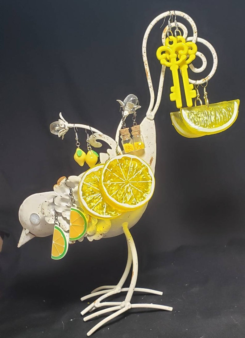 Lemon Slice Earrings *Seconds Due to Supplier Issues*