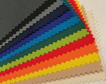"""Waterproof Canvas Indoor/Outdoor Fabric - %100 Waterproof Solid Fabric -  60"""" wide - Anti-UV - 14 Solid Colors - Sold by the Yard"""