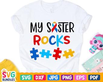 Personalised My Sister Bella Rocks Baby Boys Girls Romper Sleepsuit