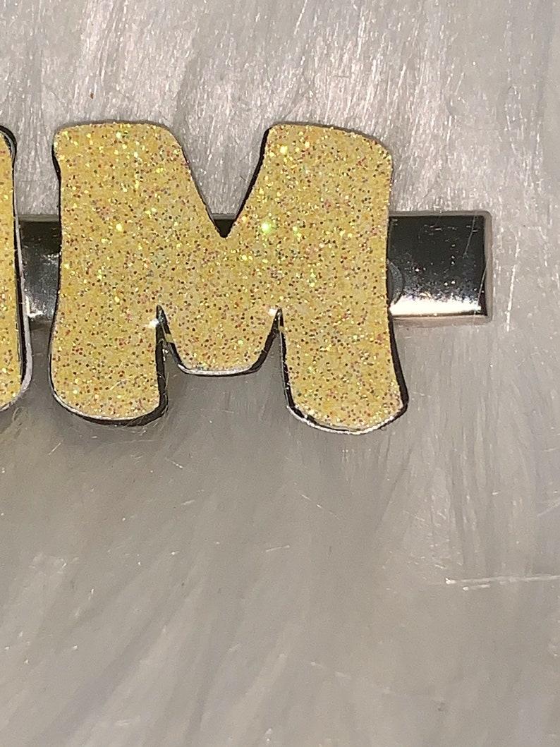 Name Hair Clip,Custom Name Hair Clip Personalized hair pin Name Clip Personalized hair clip gift idea