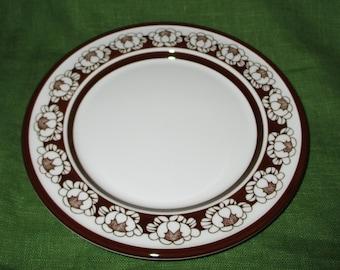 Arabia Rice-Grain Porcelain Serving Plate Cake Platter 27.5 cm Vintage by FRIEDL HOLZER-KJELLBERG of Finland 1950/'s