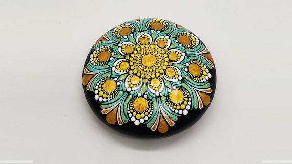 Painted Mandala Stones   Paperweights   Mandala Dot Art   Painted Rocks   Mandala Rocks   Stone Mandalas   Stone Painting   Rock Art