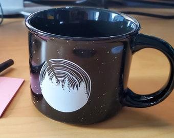 Tree ring - 13oz Ceramic Campfire Mug