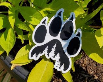 Nature's footprint - Sticker