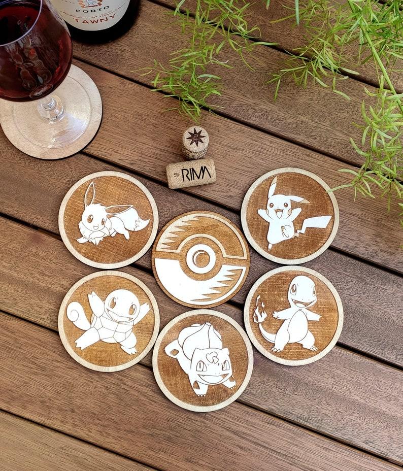Pokemon Wood Coaster Bulbasaur Coaster
