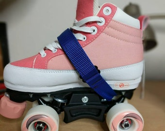 Roller skates ankle Saver by GStraps *solid colors only.  fits all chayas,moxi, moonlight and all roller derby skates. Sold as a pair.