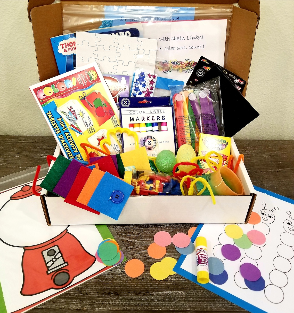 BusyKidCo busy box