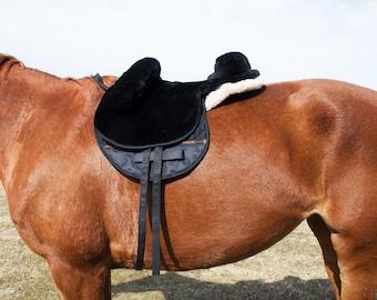 Bareback Saddle Pad   100% Genuine Siberian Sheepskin