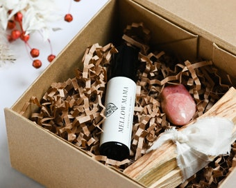 Self-care mindfulness gift box