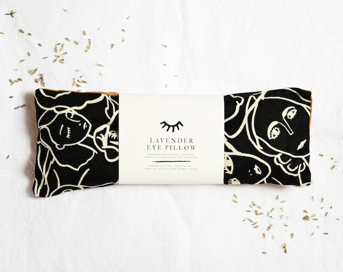 Featured listing image: Weighted relaxation eye pillow