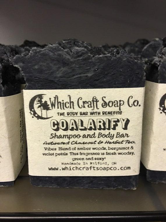 Coalarify - Activated Charcoal Shampoo Bar