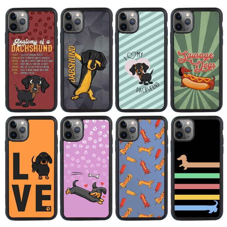 Dachshund Glass Case Phone Cover for Apple iPhone 12