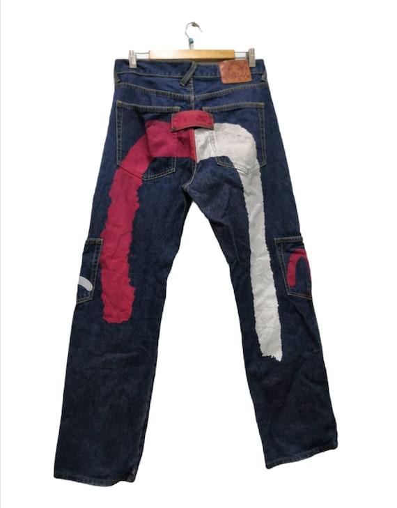 Evisu Multi Pocket Denim Jean