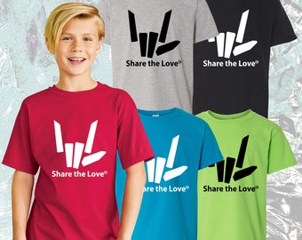 Kids Share the love t shirt Youth Stephen Sharer inspired merch Share the love