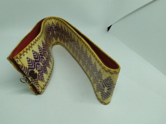 Berber Belt, Handmade hypsy silk Kaftan Dress belt