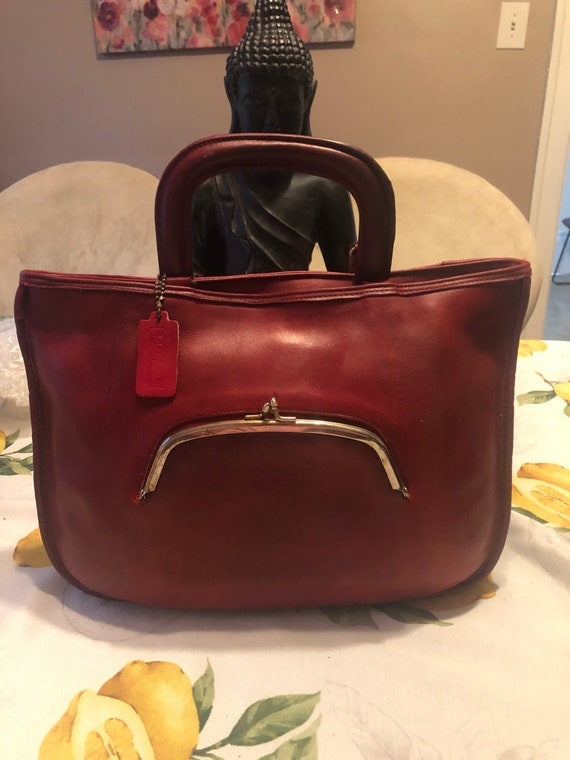 Coach Vintage Bonnie Cashin Pre-Creed Red Watermel