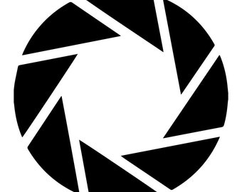 Aperture Science Logo Decal
