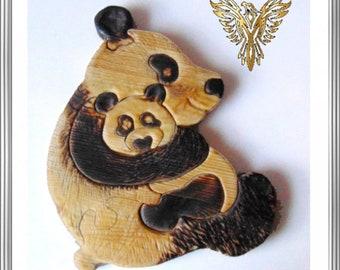 Pandamama, Cuddly Bears, Bear Puzzle