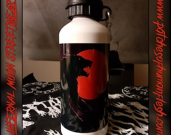 Witching The Carnivorous Moon 20oz. Water bottle. Fear the moon!