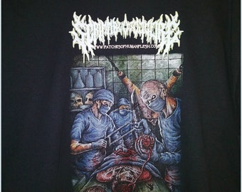 Brain Dead As Fxck black gildan shirt.