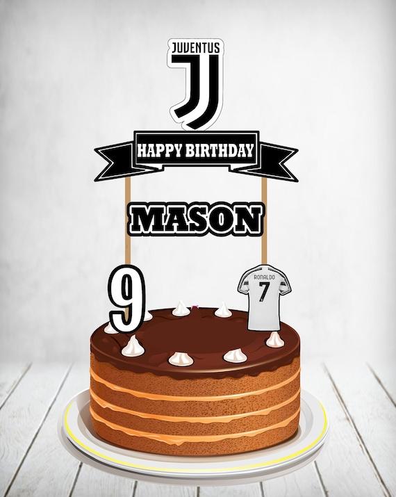 12++ Juventus Ronaldo Cake Design