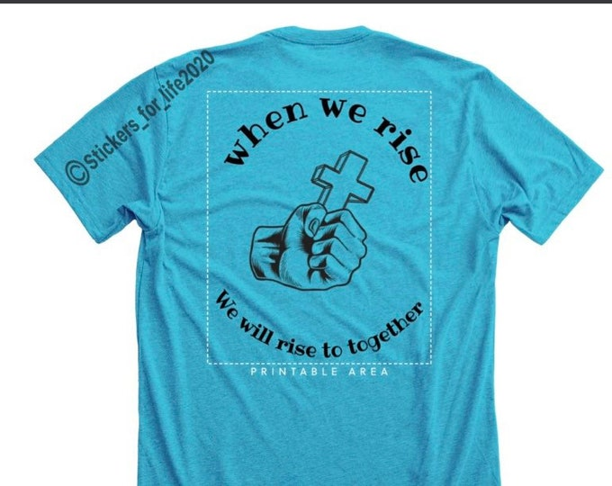 """For king and country """"Together"""" song lyric shirt"""
