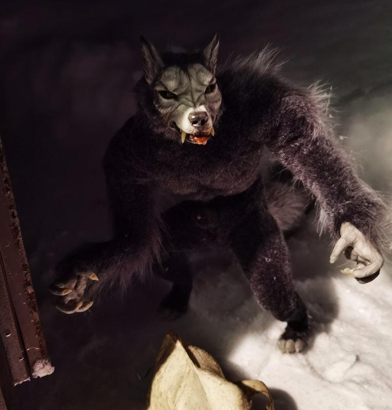 To order Werewolf figurine anatomically correct male. 31 cm. image 0