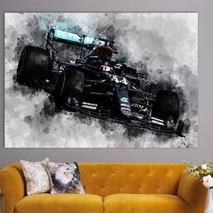 Lewis Hamilton 2020 Poster F1 Mercedes Grand Prix Champion Etsy