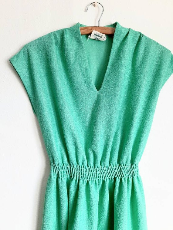 Vintage Dress, 60s- 70s Mint Green Dress