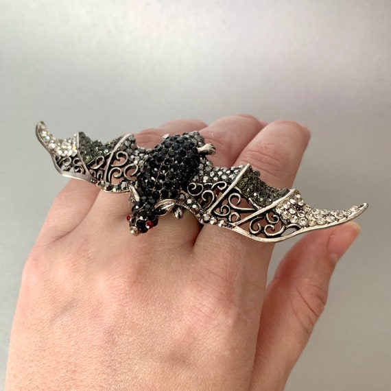 Witch ring Witch silver ring Sorceress ring Witch jewelry Witch art  Halloween jewelry Gothic jewelry Witch gift Gift for witch Gothic ring