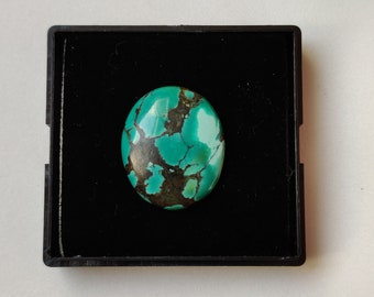 Loose Turquoise 31X23 mm Tibetan Turquoise 1 Pc Teardrop Turquoise Cabochon Loose Gemstone Turquoise Gemstone Natural Turquoise