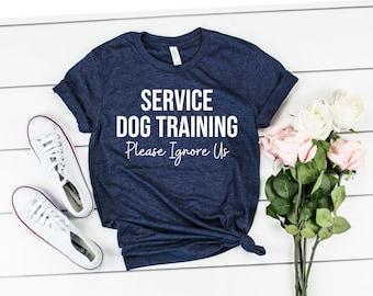 Service Dog Trainer Unisex Shirt Dog Training TShirt Service Dog Shirt Service Dog Trainer TShirt Dog Dad Shirt Dog Lover TShirt