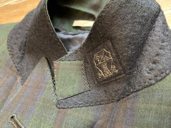 Brunello Cucinelli Mens Blazer Jacket Green Blue … - image 3