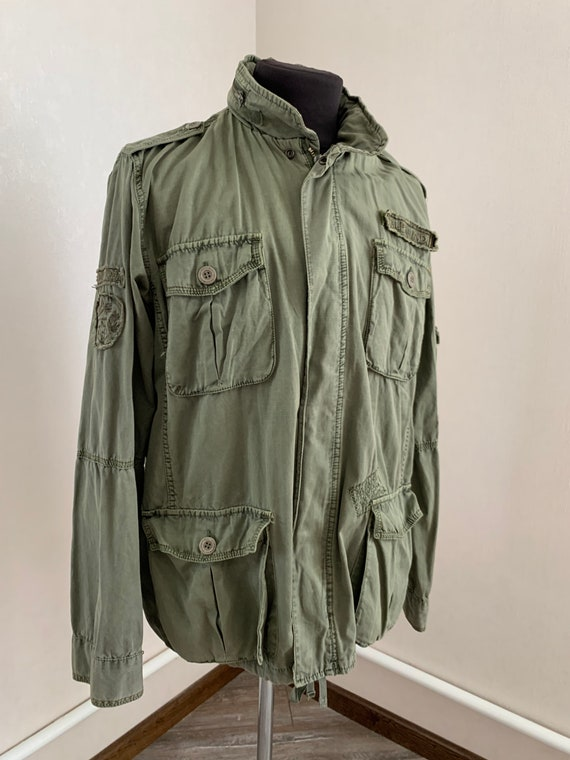 Alpha Industries Mens Jacket Hero Choice Green Vin