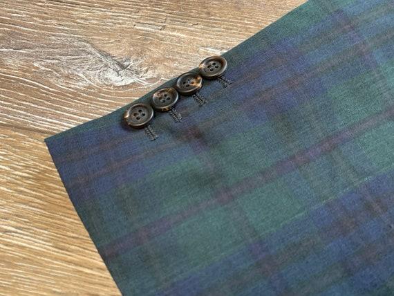 Brunello Cucinelli Mens Blazer Jacket Green Blue … - image 7