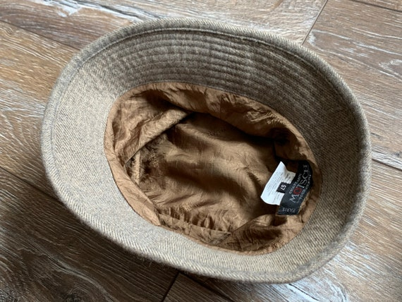 Hermes Motsch Chapeaux Bucket Hat Grey  Nylon Cash