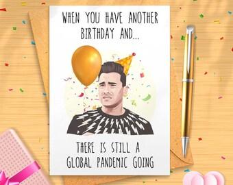 David Rose Birthday Card Don/'t Be A B Birthday Card