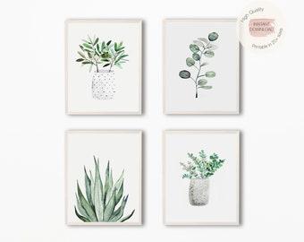Plant Wall Art Etsy