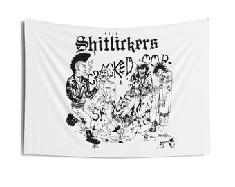 SHITLICKERS back patch