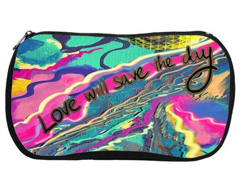 Love Will Save The Day - Cosmetic Bag