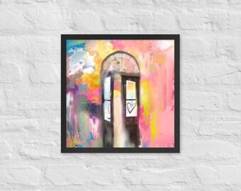 Open Door Framed Poster