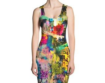 City Rhythm Tank Dress