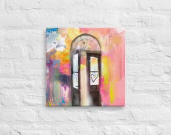 Open Door - Canvas Print
