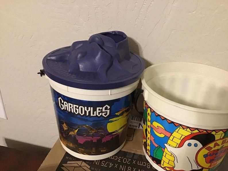Plastic vintage Halloween Buckets Burger King. Hardee\u2019s Arbys