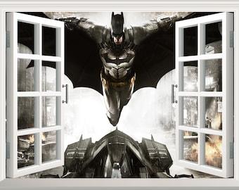 Batman Wall Mural Etsy